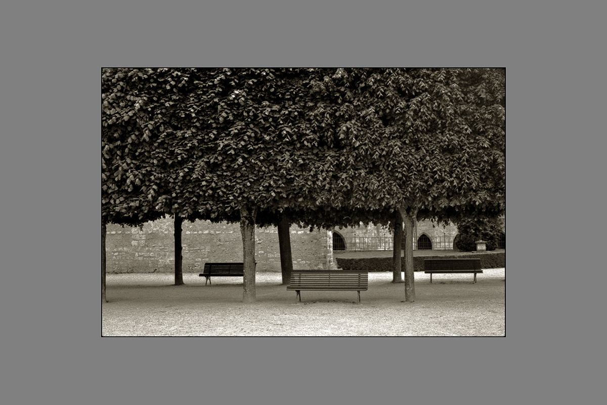 three benches, loches, 2011